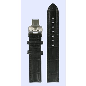 Tissot Tissot T050207A & T050217A Horlogeband Zwart Leer 16 mm