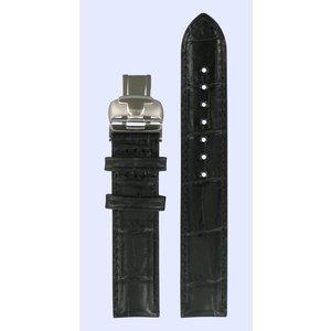 Tissot Tissot T050207A & T050217A Watch Band Black Leather 16 mm