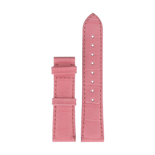 Tissot Tissot T66164702 XL Watch Band Pink Leather 18 mm