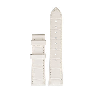Tissot Tissot T66165782 Horlogeband Wit Leer 18 mm