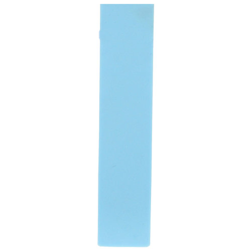 Tissot Tissot T9041 & T011217A Horlogeband Lichtblauw Siliconen 16 mm