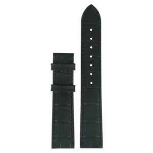 Tissot Tissot T66162732 Watch Band Black Leather 18 mm