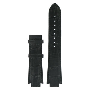 Tissot Tissot T60152113 & T60152152 XL Uhrenarmband Schwarz Leder 13 mm