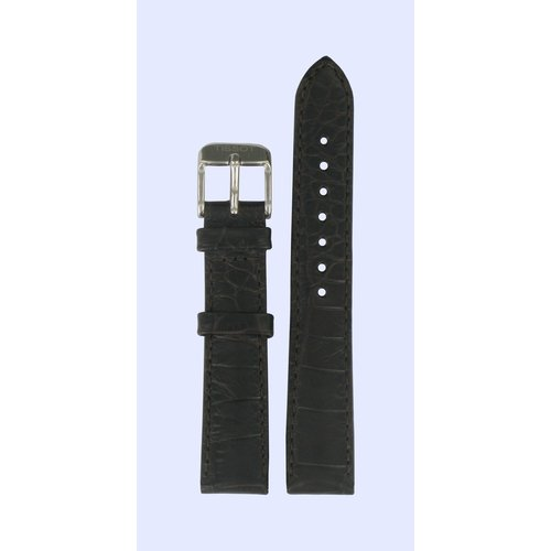 Tissot Tissot T038207A Horlogeband Donkerbruin Leer 16 mm