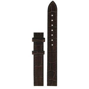Tissot Tissot T41511313 & T41511312 Watch Band Dark Brown Leather 12 mm