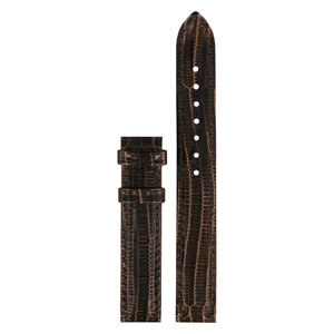 Tissot Tissot T02121561 Watch Band Brown Leather 14 mm