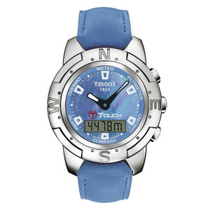 Tissot Tissot T33763881 Horlogeband Blauw Siliconen 20 mm