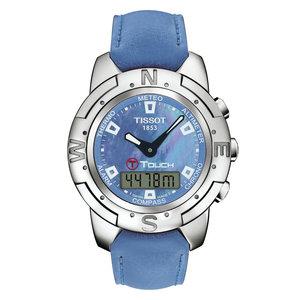 Tissot Tissot T33763881 Uhrenarmband Blau Silikon 20 mm