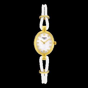 Tissot Tissot T7131 & T7133 Uhrenarmband Weiß Leder  mm