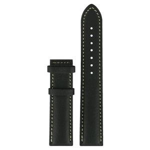 Tissot Tissot T014421A & T014410A Watch Band Black Leather 19 mm