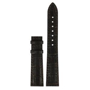 Tissot Tissot T008217A Horlogeband Donkerbruin Leer 17 mm