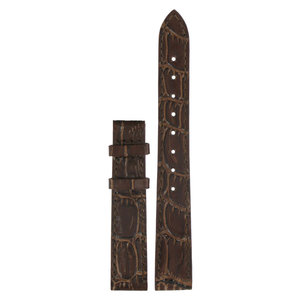 Tissot Tissot T22111111 XL Watch Band Brown Leather 14 mm