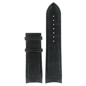 Tissot Tissot T035614A & T035627A - XS Horlogeband Zwart Leer 24 mm