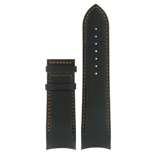Tissot Tissot T035614A & T035627A XS Horlogeband Zwart Leer 24 mm
