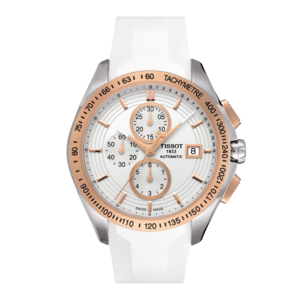 Tissot Tissot T024427A Horlogeband Wit Siliconen 22 mm