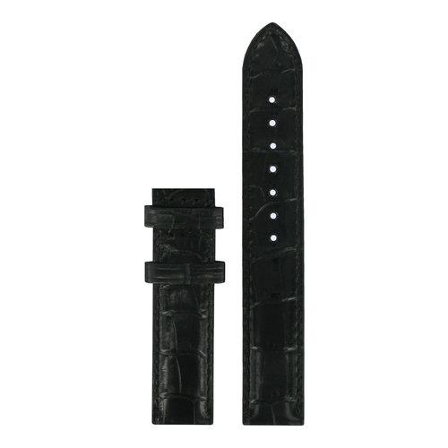 Tissot Tissot T050207A, T050217A & T906217A Horlogeband Zwart Leer 16 mm