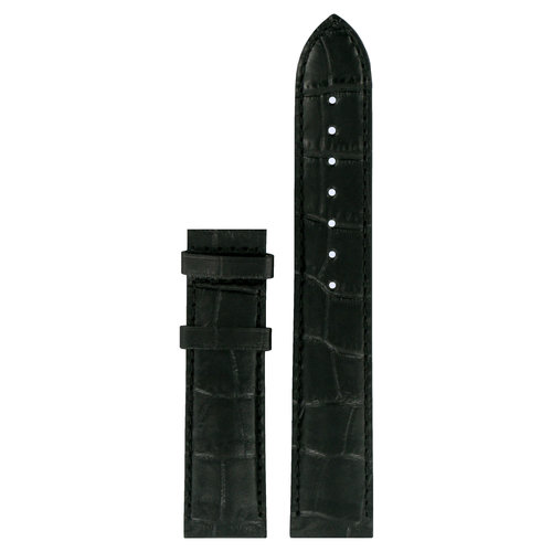 Tissot Tissot T049407A & T065430A Watch Band Black Leather 19 mm