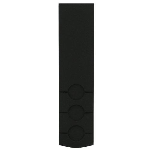 Tissot Tissot T044417A Uhrenarmband Schwarz Silikon 20 mm
