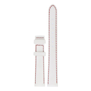 Tissot Tissot T008010A Watch Band White Leather 14 mm