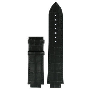 Tissot Tissot T061510A Uhrenarmband Schwarz Leder 15 mm