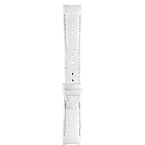 Tissot Tissot T035210A Watch Band White Leather 18 mm
