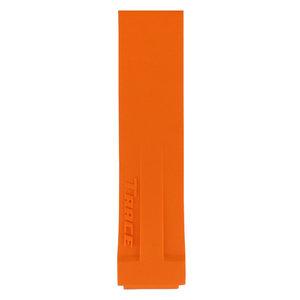 Tissot Tissot T048217A Horlogeband Oranje Siliconen 17 mm