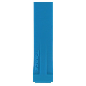 Tissot Tissot T048217A Horlogeband Blauw Siliconen 17 mm