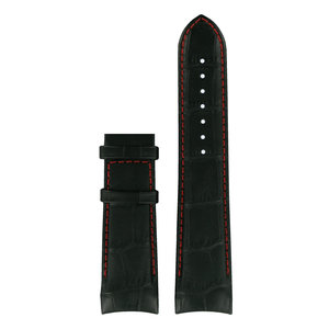 Tissot Tissot T0354391603101 XL Uhrenarmband Schwarz Leder 23 mm