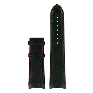 Tissot Tissot T0354391603101 Horlogeband Zwart Leer 23 mm