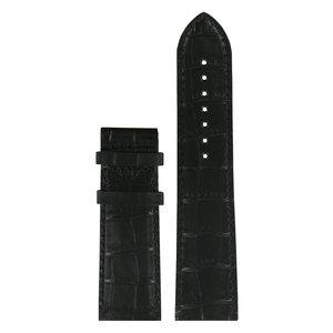 Tissot Tissot T911535A XL Watch Band Black Leather 24 mm
