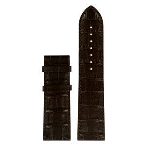 Tissot Tissot T911535A - XL Watch Band Dark Brown Leather 24 mm