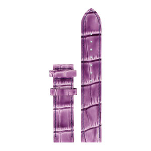 Tissot Tissot T0502071603100 Watch Band Purple Leather 16 mm