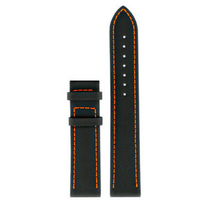 Tissot Tissot T0554171605701 Tony Parker Watch Band Black Leather 19 mm