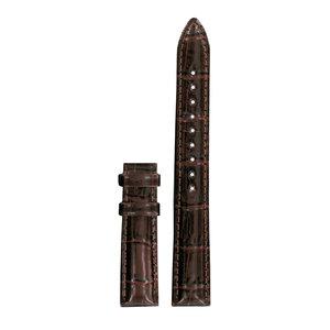 Tissot Tissot T055217A Uhrenarmband Braun Leder 16 mm