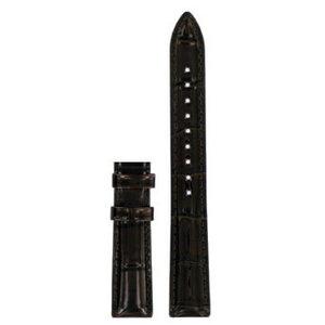 Tissot Tissot T055217A Uhrenarmband Dunkelbraun Leder 16 mm