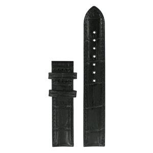 Tissot Tissot T050207A & T050217A - XL Watch Band Black Leather 16 mm
