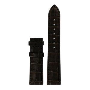 Tissot Tissot T087207A Uhrenarmband Braun Leder 18 mm