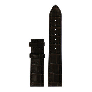 Tissot Tissot T087207A Watch Band Brown Leather 18 mm