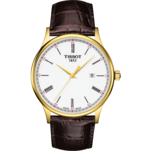 Tissot Tissot T914410A Watch Band Brown Leather 21 mm