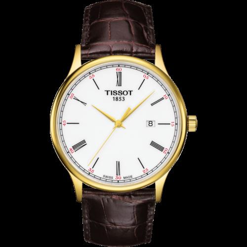 Tissot Tissot T914410A Horlogeband Bruin Leer 21 mm