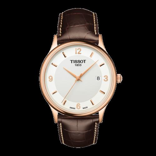 Tissot Tissot T914410A & T914407A XL Horlogeband Bruin Leer 21 mm