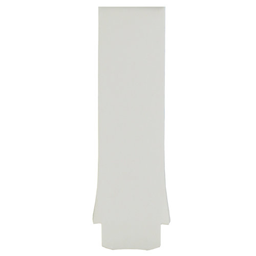 Tissot Tissot T075220A Watch Band White Silicone  mm