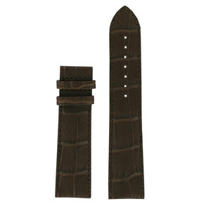 Tissot Tissot T086407A Powermatic 80 Watch Band Brown Leather 22 mm