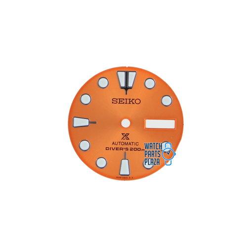 Seiko Seiko 4R3606N4XY1Z Wijzerplaat SRPC95 Nemo Orange Turtle