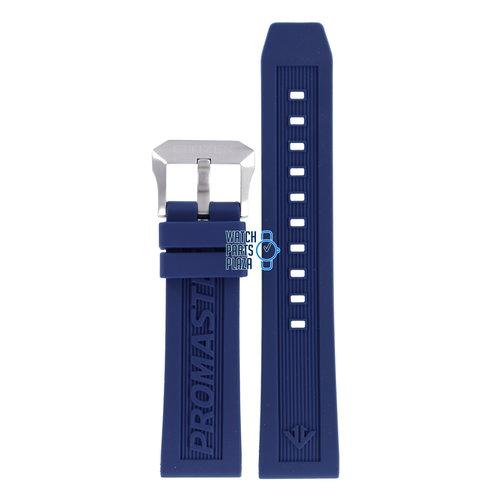Citizen Citizen BN2038-01L Eco-Drive Horlogeband Blauw Siliconen 22 mm