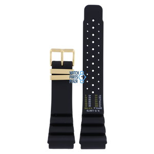 Citizen Citizen JH0004, JH0064, JP2004 & CQ1021 Watch Band Black Silicone 24 mm