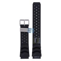 Citizen JP1040, BJ2000 & BJ2004 N.D. LIMITS Watch Band Black Silicone 20 mm