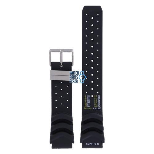 Citizen Citizen JP1040, BJ2000 & BJ2004 N.D. LIMITS Watch Band Black Silicone 20 mm