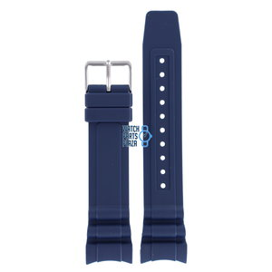 Citizen Citizen BN0100-34L Watch Band Blue Silicone 23 mm