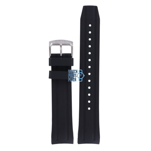 Citizen Citizen NY0076-10EE Promaster Sea Limited Edition Horlogeband Zwart Siliconen 22 mm